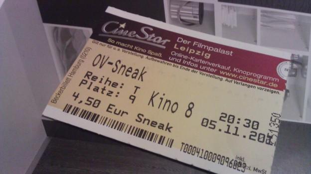 Kinokarte Argo