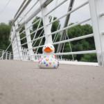 auf der Brücke zum Tiergarten