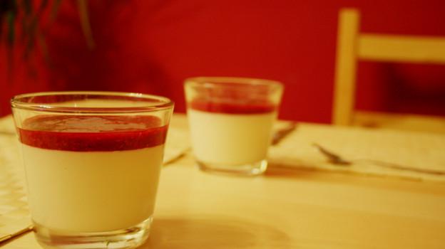 Dessert aus Buttermilch