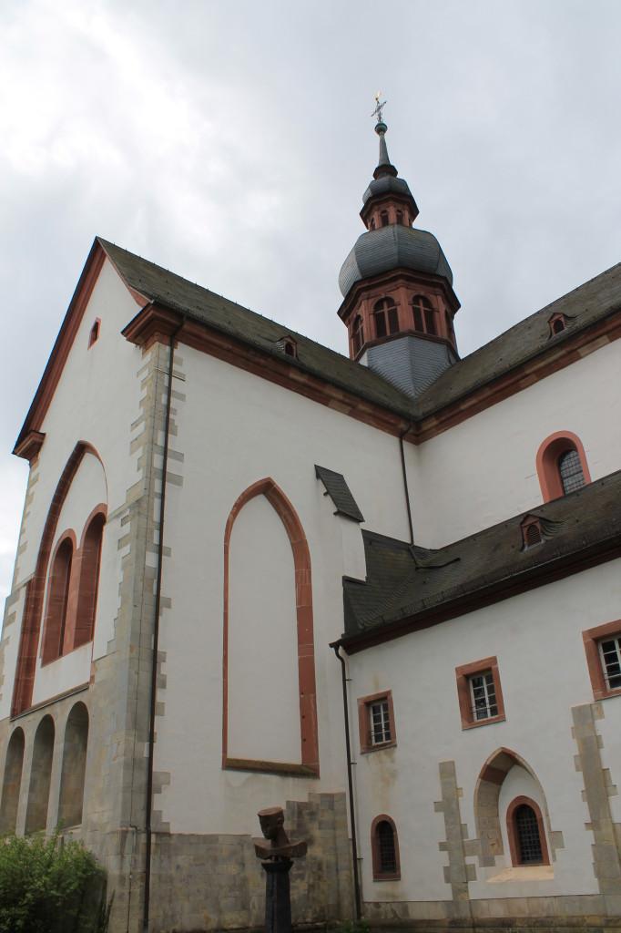 Kloster Eberbach - Seitenansicht