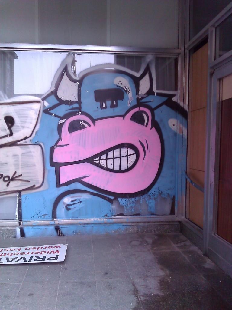 Grafitti Ochse