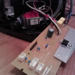 HD7860 Platine mit defektem Kondensator