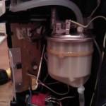 HD7860 Wassertank, Pumpe und Platine