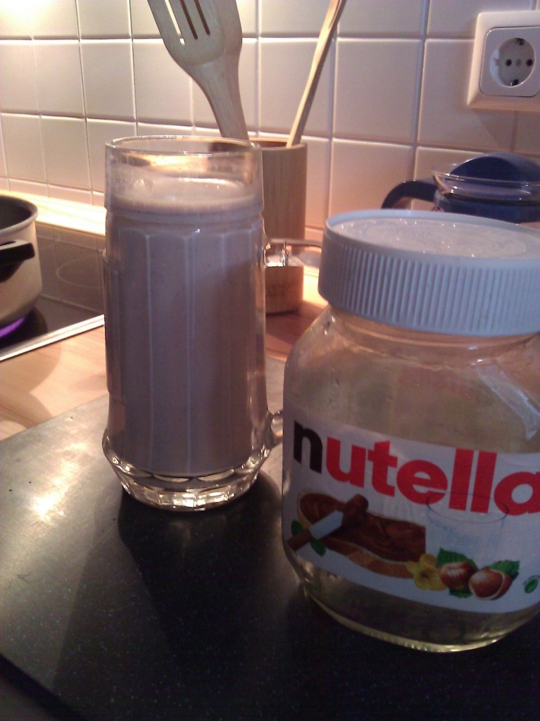 Nutellamilch