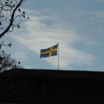 Schwedische Flagge