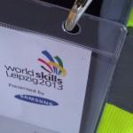 World Skills Leipzig - Akkreditierung und Warnweste