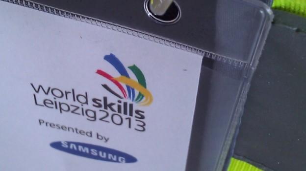 World Skills Leipzig 2013 – Aufbauphase