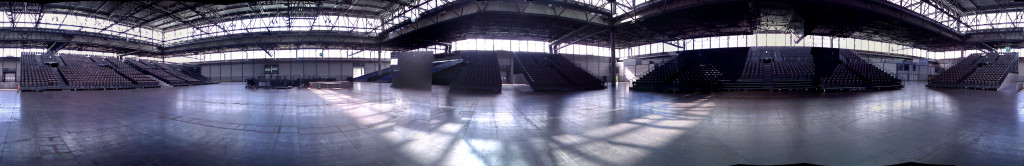 World Skills Leipzig - Messehalle 1 Panorama