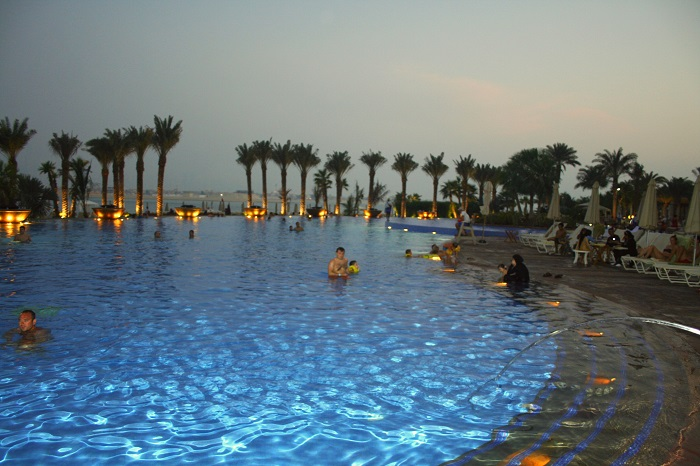 Poolblick Atlantis The Palm.