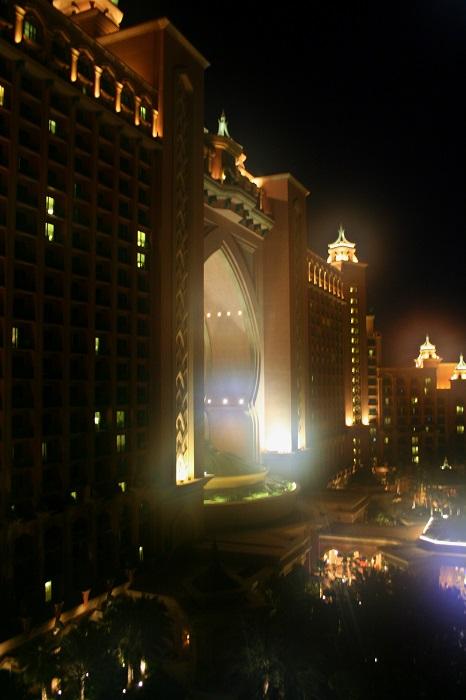 Blick aus dem Zimmer im East-Tower des Atlantis The Palm