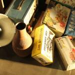 Nachtflohmarkt - Vase, Megafon und Küchenzubehör
