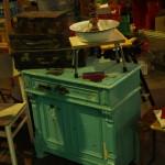 Nachtflohmarkt - Koffer und Kommode