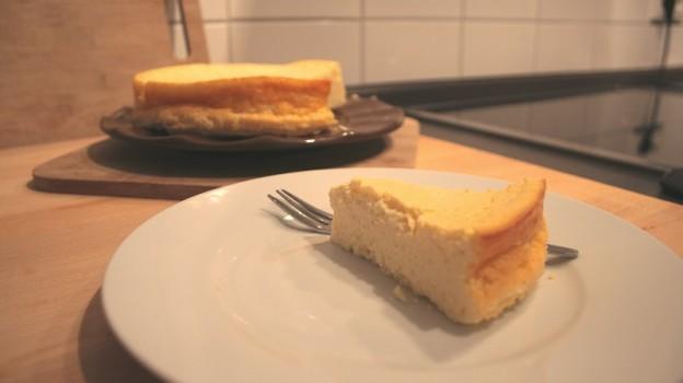 Quarkkuchen/Käsekuchen ohne Boden