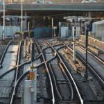 Stockholm - Eisenbahnschienen