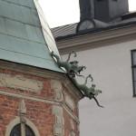 Stockholm - Wasserspeier an Riddarholmskyrkan
