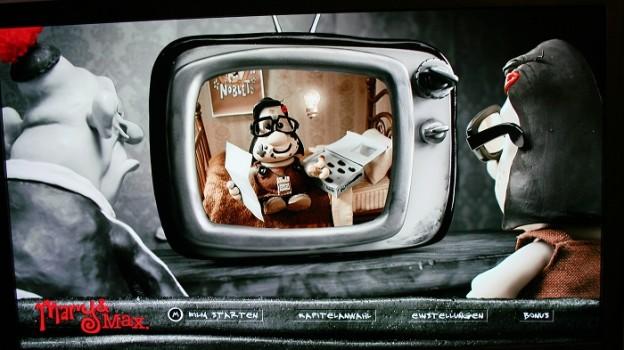 Maty und Max - Die DVD (Menü)