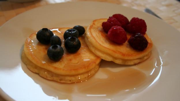 Pancakes im Miniformat