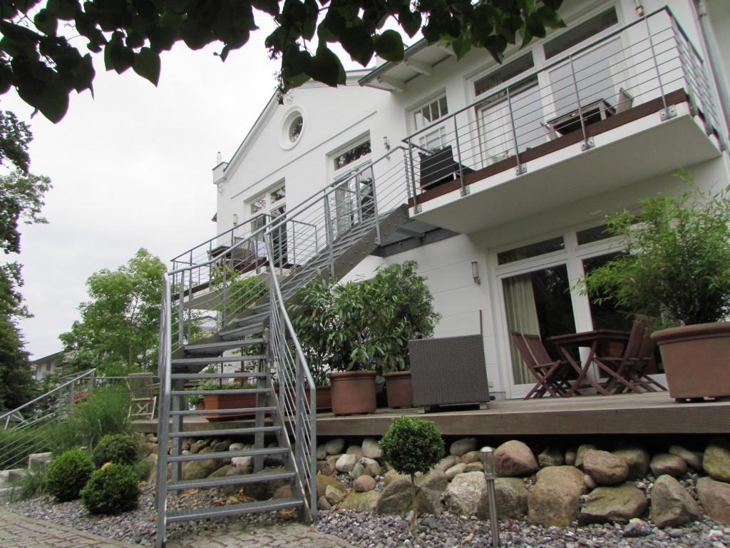 Binz Villa Ravensberg von hinten
