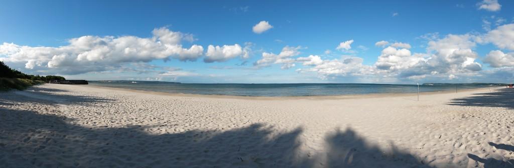 Panorama vom Proraer Strand.