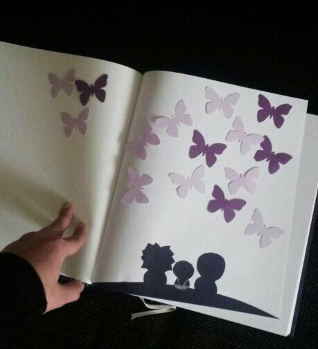 Gästebuch Schmetterlinge