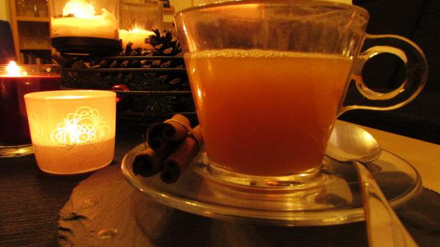 Orangen-Punsch mit Rum