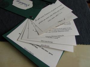 DIY Einladung Hochzeit