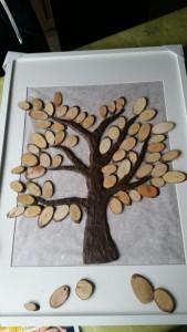 Fingerabdruckbaum fast fertig