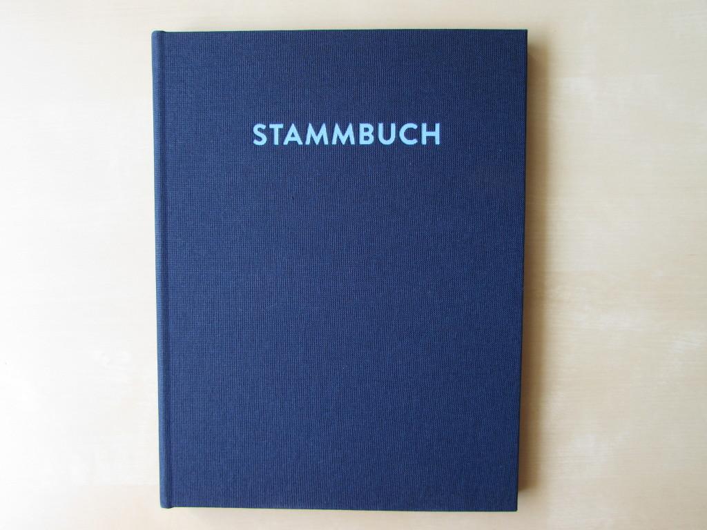 Stammbuch Paul Glück und Segen